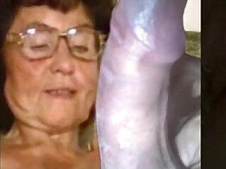 5:12 - Delicious granny masturbating -