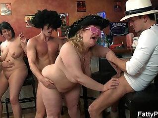7:49 - Wild bbw group orgy -