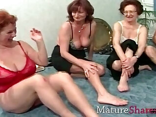 6:41 - Grannies in swing party -
