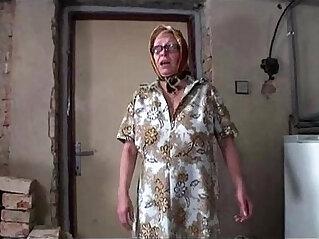 8:08 - Grandpa fucks teen in front of busty granny -
