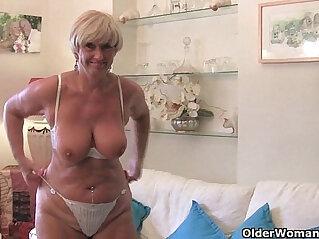 16:38 - British and voluptuous granny Samantha -