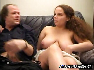27:14 - Busty amateur girlfriend fuck in front of her mom -