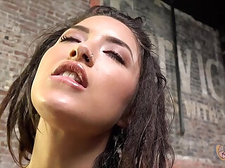 7:26 - Teen Daisy Haze Jerking Off a Cock -