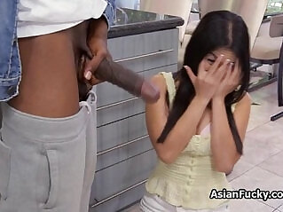 5:43 - Tight Asian filled with BBC -