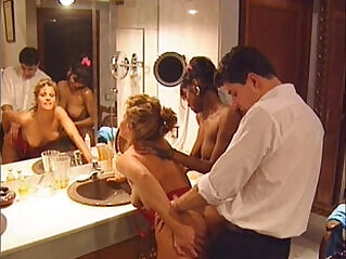 1:36:48 - Swedish redhead and Indian beauty in Vintage porn -