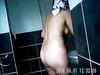 1:51 - Nude moms spied in bath room by bad sons -