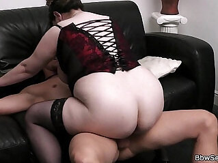 6:02 - Busty bitch rides him while his wife leaves -