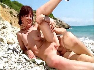 4:20 - Joyce analfucked on a beach in Spain -