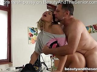 5:01 - Lara West seduces old doctor Philippe Soine into fucking hard -