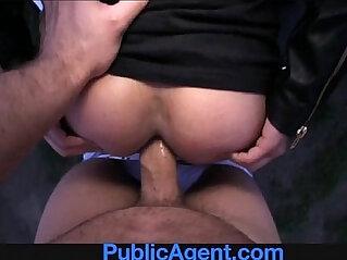 15:25 - PublicAgent Amateur anal sex outside on the car -