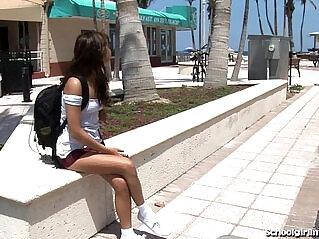 5:53 - Cute Schoolgirl Takes Creampie -