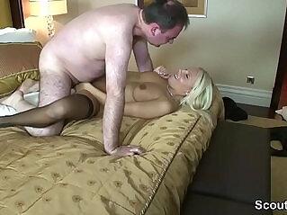 11:27 - Hot German Escort Fuck old Man in Hotel for Money -