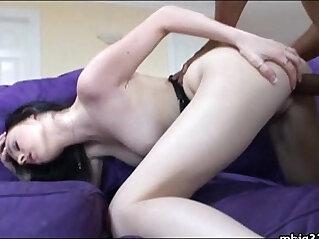 5:43 - Huge mamba black big cock pounding tight pussy -