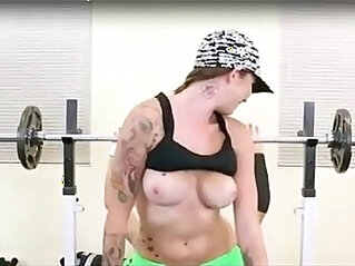 5:42 - Hardcore with trainer chick Callie porn HD Video -