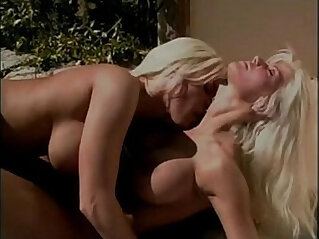 32:25 - lesbian blondes on the pool -