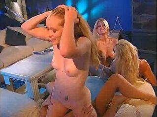 17:11 - Chandler, Brooke Hunter, Kitty Marie and T.J. Hart lesbian orgy -