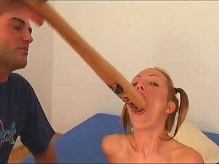 32:19 - Angela Winters playing wih bat -