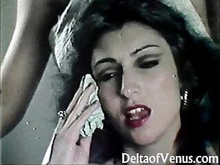 12:14 - Retro Porn Hairy French Teen -
