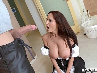 5:04 - Sexy MILF in Maid Outfit -