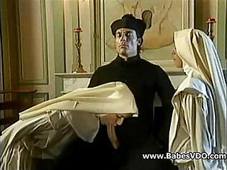 13:05 - Nuns fuck with Priest and fisting -