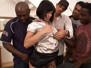 40:43 - Prima Interracial nasty Gangbang -
