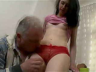 5:31 - Old chap eats young cum hole -