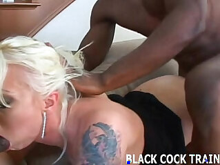 11:29 - His big black monster mamba cock is going right up my ass -
