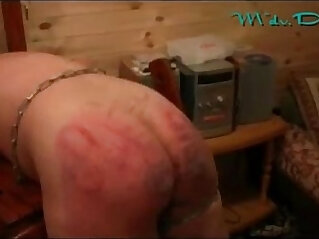 3:40 - A Good BDSM Spanking from Russia with boobs Love -