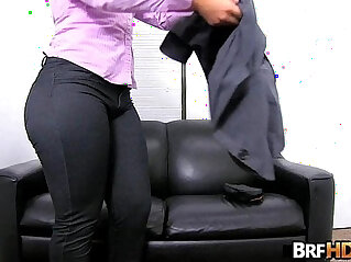 7:39 - Big ass latina Rose Monroes very first porno -