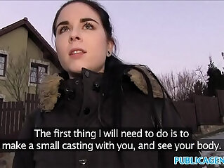 13:45 - Public Agent Spanish Student fucks for party cash -