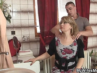 6:21 - Mom rides son in law cock and his wife comes -
