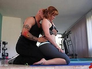 27:50 - Claire Robbins Enjoys Namaste XXX -