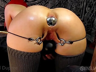 20:36 - Asshole gaping anal odd insertions -