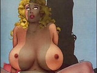 6:32 - Big Tit Huge Breast Artwork -
