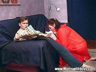 12:11 - Stepmom Teaches Stepson About Actual Porn -