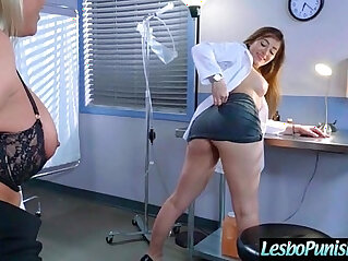 7:46 - Hot Lez Girl phoenix Get Punished By Mean Lesbo scene movie -