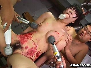 0:59 - Overwhelmed by the sex toy session from the freaks -