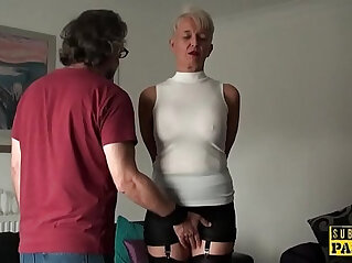 10:52 - Busty brit roughly fucked in her mature cunt -