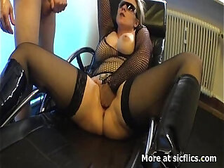 7:43 - Blond milf fucked in her insatiable vagina -