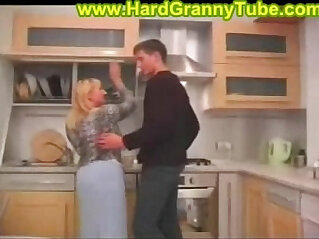 13:48 - blonde bbw mom and son -