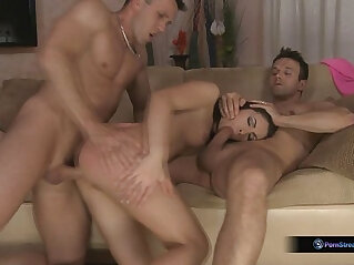 35:37 - Rashia, Choky Ice, And Titus Steel In Hot DP Threesome -