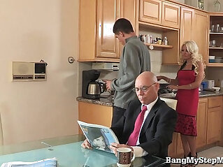 5:18 - Whore wife with her stepson -
