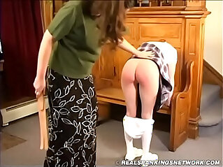 7:14 - Spanked in the foyer -