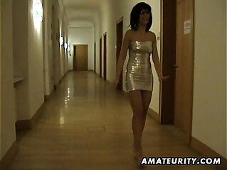 12:51 - Amateur Milf sucks and fucks in a hotel room -