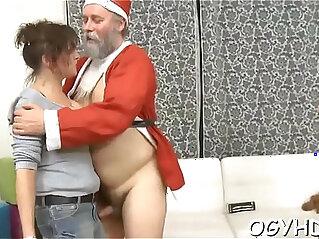 5:31 - Skillful old guy slams juvenile pussy -