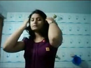 1:35 - indian girls self shut in bathroom -