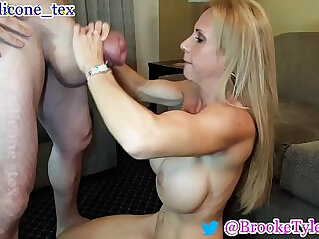 0:31 - MILF Pornstar Brooke Tyler and monster cock Silicone Tex -