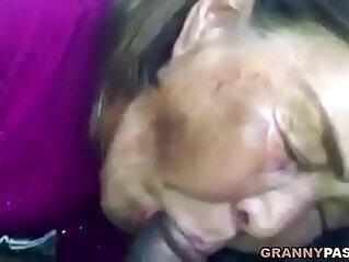 7:57 - Asian Sucks Black hard long Cock In The Car -