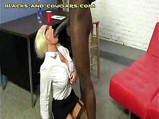 5:27 - Big Black Bull for Hot Blonde Cougar -