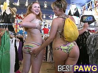7:53 - Fat Asses on Collins Avenue in Miami Beach HD -